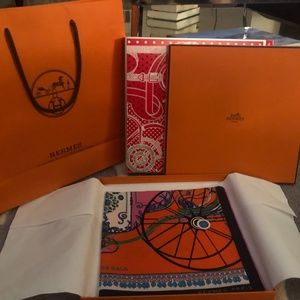 Hermes Accessories - Hermes Coupe De Gala Silk Scarf - New with Tags